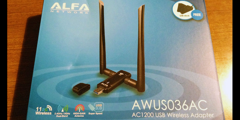 AWUS036AC: AC1200 USB Wireless Adapter Package