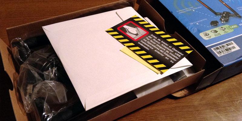 AWUS036AC: Opened Box