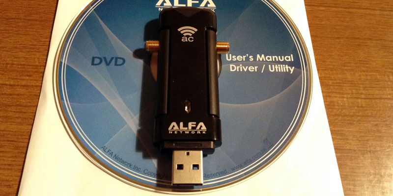 AWUS036AC: Product User Manual Driver Utility Alfa DVD