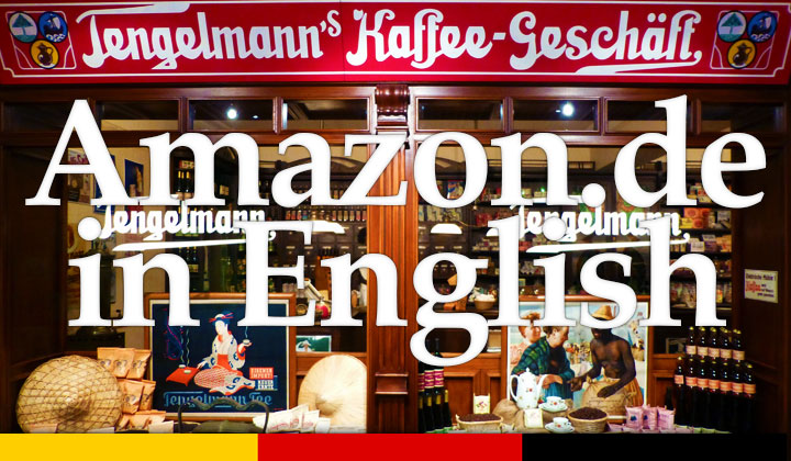 Amazon.de Germany English
