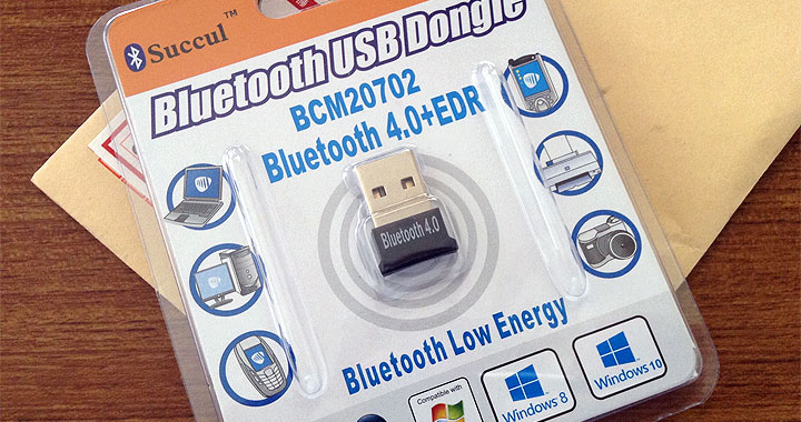 Bluetooth USB Dongle Broadcom BCM20702