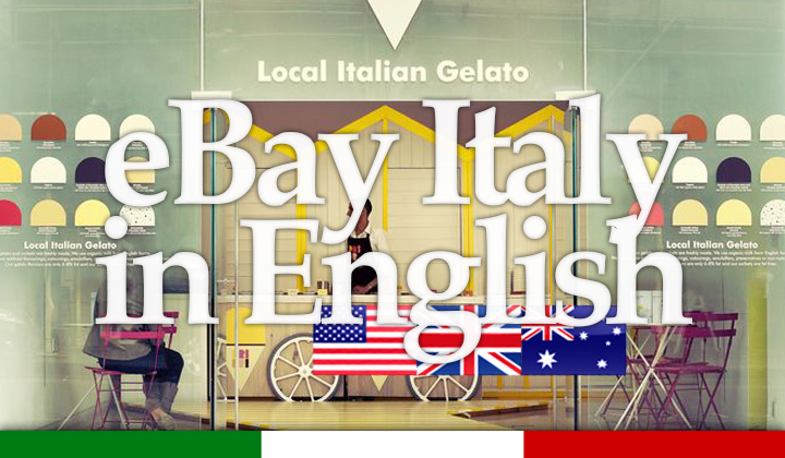 English Shopping eBay IT Italy