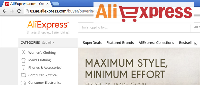 AliExpress in English