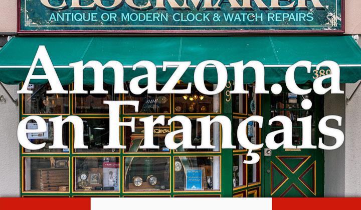 Amazon.ca Canada en Français
