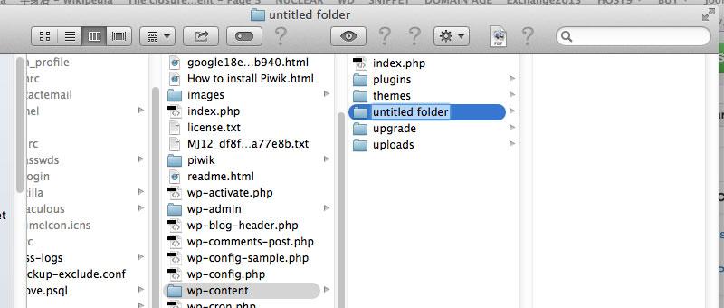 Apple Finder Create New Folder