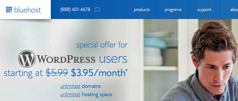 Bluehost WordPress Blog Hosting