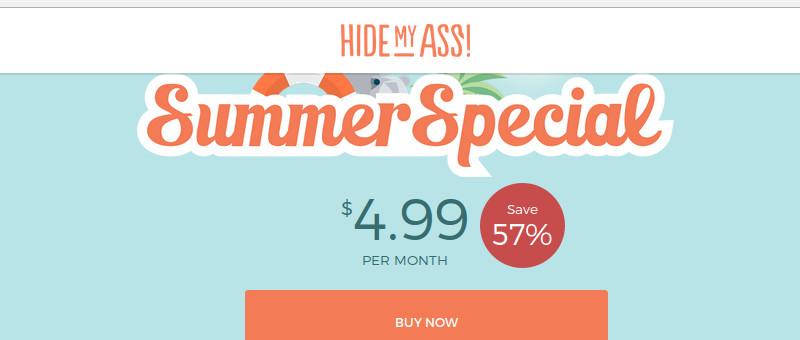 HideMyAss VPN Special Promo Discount