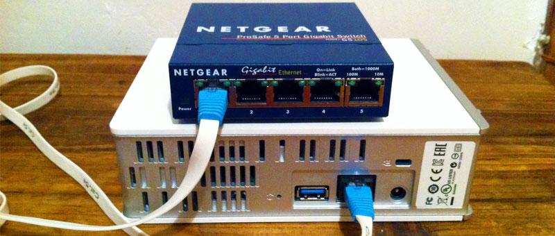 WD My Cloud Netgear Gigabit Switch Ethernet