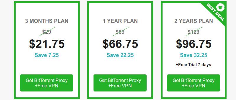 Torrentprivacy VPN Discount Price List
