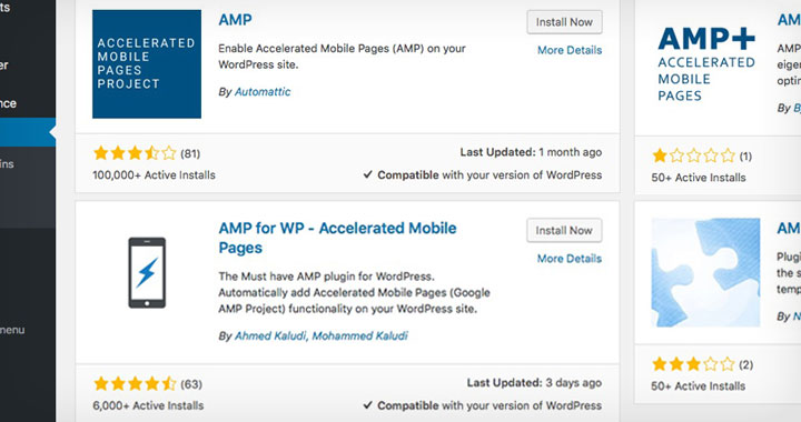 AMP WP Plugins
