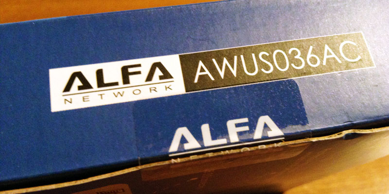 AWUS036AC: Alfa Network Authentic Tape