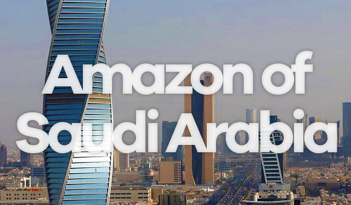 Amazon Website in Saudi Arabia! How to Buy, Shipping, Equivalent Store