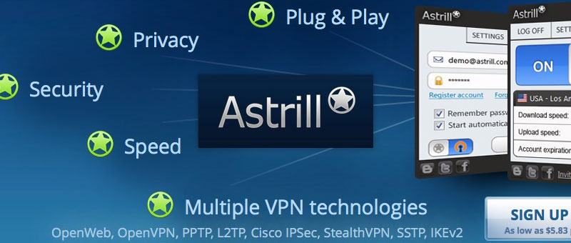 Astrill VPN Private IP Add-on