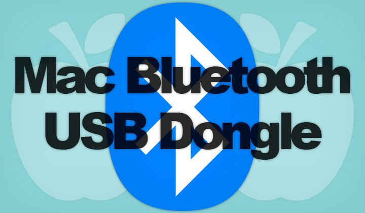 Mac Bluetooth USB Dongle