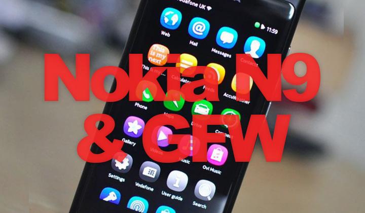 Nokia N9 GFW