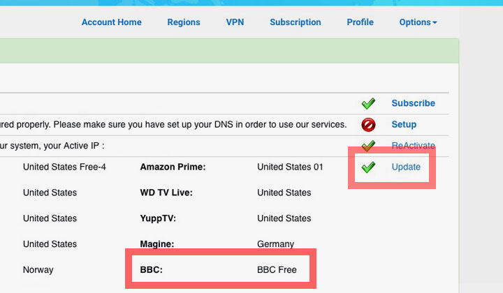 Smart DNS Proxy BBC Free