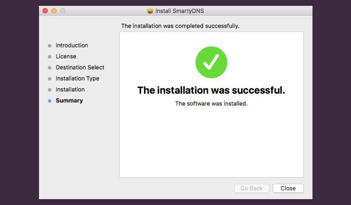SmartyDNS Installation