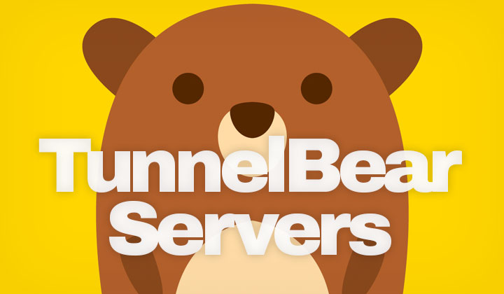 TunnelBear Server Locations
