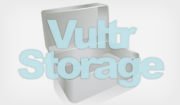 Vultr Storage Instance