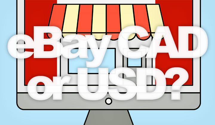 eBay Canada CAD USD