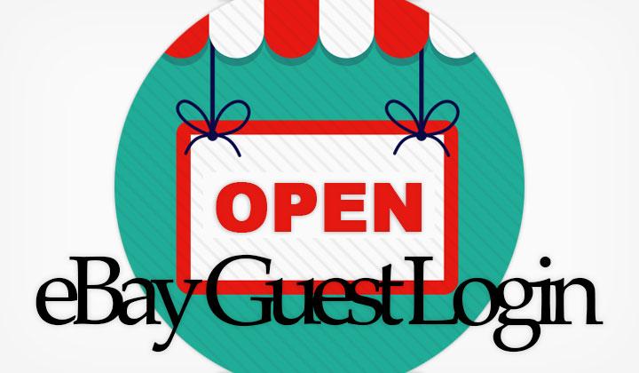 eBay Guest Login