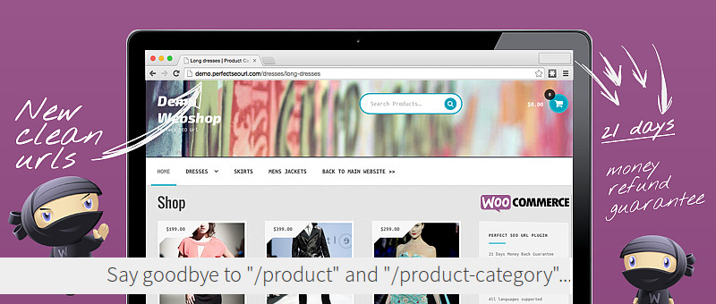 Perfect SEO Url WordPress Plugin for WooCommerce